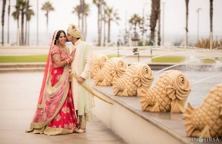 Rakhsita & Veshal | Hyatt Regency Huntington Beach Wedding featured image