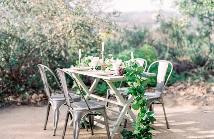 Rustic tabletop wedding inspiration
