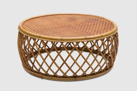 Albright Rattan Coffee Table featured image
