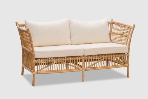 Delaney Rattan Settee featured image