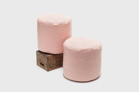 Faison Leather Poufs featured image