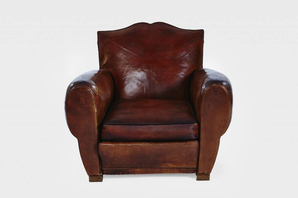 Southport Leather Club Chair featured image