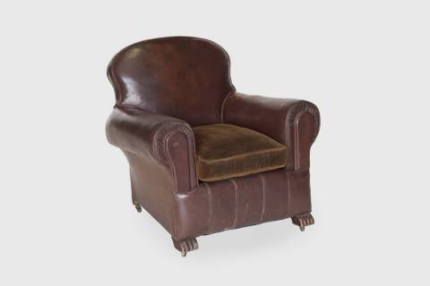 Gayle Mill Leather Chair featured image