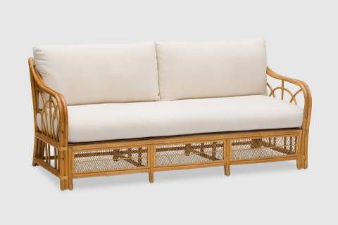 Irving Rattan Sofa featured image