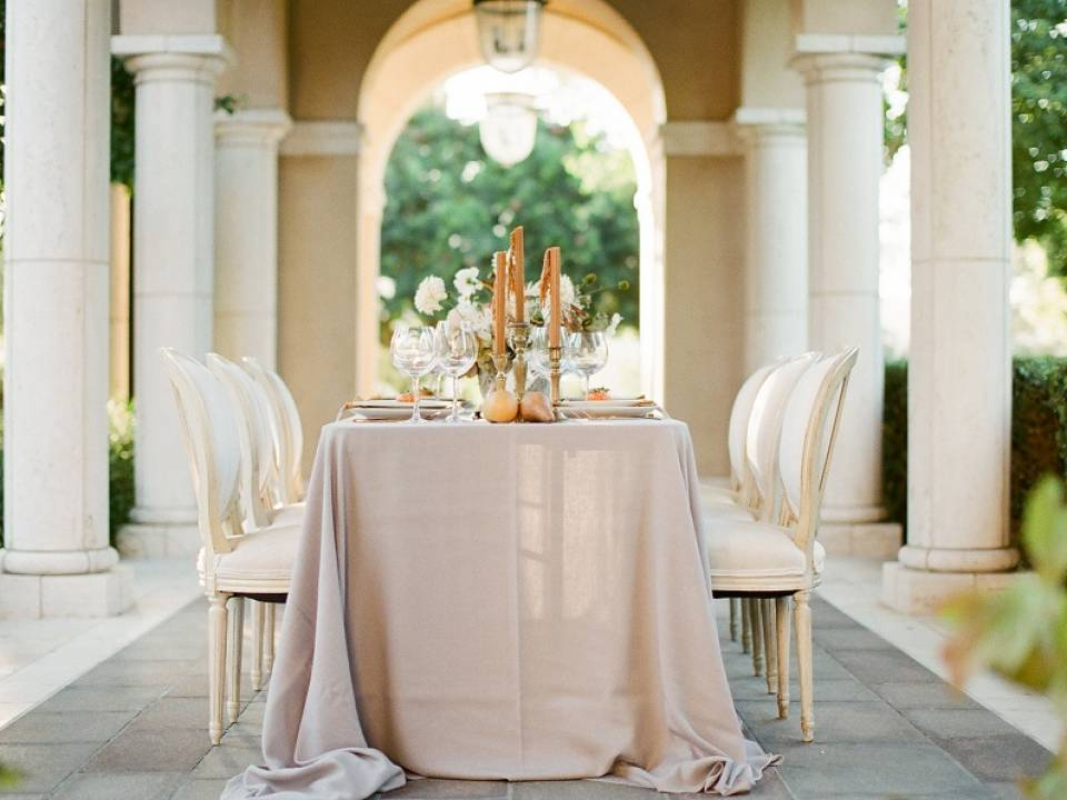 Romantic Spanish Mission Wedding Inspiration Featured on Wedding Sparrow featured image