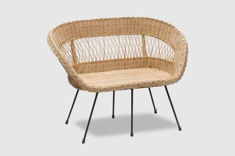 Regan Rattan Settee featured image