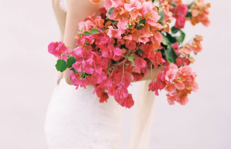 Bougainvillea Inspired Wedding Ideas Featured on Ruffled featured image