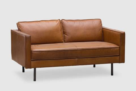 Saluda Leather Sofa featured image