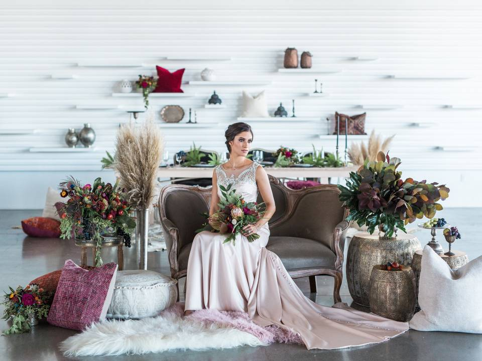 Romantic Morrocan Inspiration Featured on California Wedding Day featured image