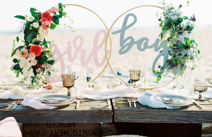 gender reveal, pastel inspiration