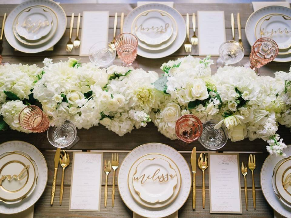 table decor, the majestic downtown, tablescape, vintage rentals