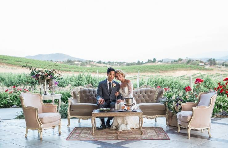 Avensole Winery, styled shoot